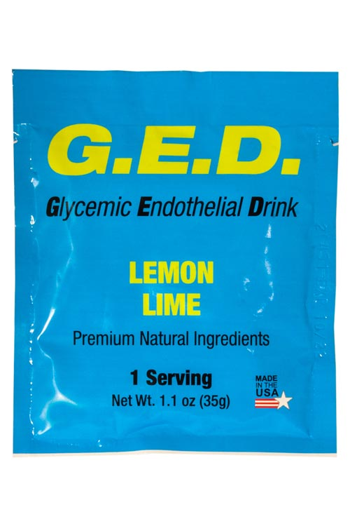 GED Packet with Water Bottle